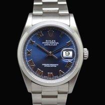 Rolex Datejust 16200 Blue Indici Romani