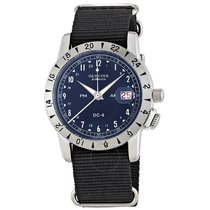 Glycine Airman DC-4 Automatic Black Dial Men's Watch