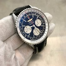 Breitling Navitimer Ab012012 Automatic Mens Watch Complete Set...