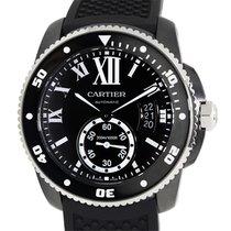 Cartier Calibre De Cartier Stainless Steel Black Automatic...