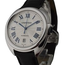 Cartier WGCL0005 Cle de Cartier in White Gold - on Black...