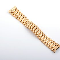 "Rolex 18K Gold Day-Date ""President"" Bracelet - 100% Original"