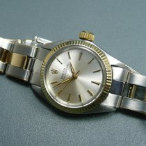 Rolex Oyster Perpetual Stahl/Gold