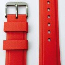 Davosa Argonautic Kautschukband rot 22mm 169.498.65
