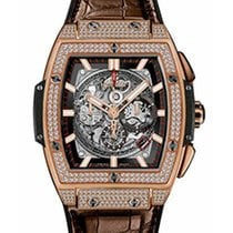 Hublot Spirit of Big Bang King Gold Pave 45 mm