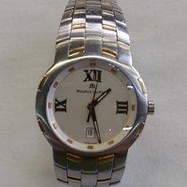 Maurice Lacroix Milestone 18k&steel elegant wristwatch