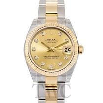 롤렉스 (Rolex) Datejust Lady 31 Champagne/18k gold 31mm G Oyster...