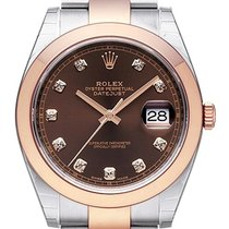 Rolex Datejust 41 Ref. 126301 Choco Diamant Oyster