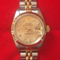 Rolex Oyster Perpetual Datejust ref.: 69173 – ladies watch –...