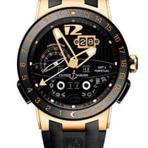 Ulysse Nardin Executive El Toro 18K Rose Gold & Ceramic...