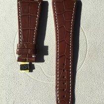 Audemars Piguet ( XL ) Royal Oak Brown Alligator Strap 28 x 18 mm