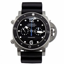Panerai PAM 615 Luminor Submersible 1950 3 Days Flyback B&P