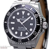 Rolex Sea-Dweller 4000 Ref-116600 Stainless Steel Box Papers...