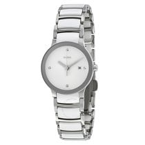 Rado Jubile Centrix Silver Dial Stainless Steel Ladies Watch