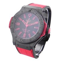 Hublot 322.CI.1130.GR.ABR10 Big Bang King All Black Red in...