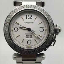 Cartier PASHA AUTOMATIC ORIGINAL DIAMONDS FACTORY