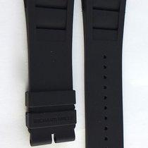 Richard Mille 10M Black Rubber Strap