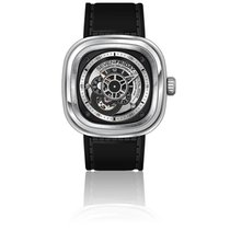 Sevenfriday P1B/01 Silver Industrial Essence