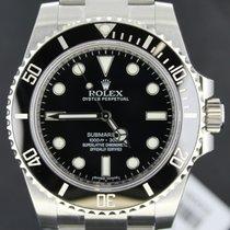 Rolex Submariner (No Date), Steel Ceramic,Black Dial 40MM Full...