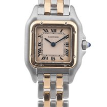 Cartier Lady Panther Steel And Gold Ref 166921