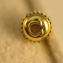 Omega Crown 4.4 X 2.9mm Seamaster Dynamic Cosmic Gold Plated...