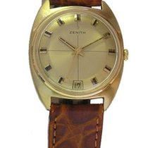 ゼニス (Zenith) vintage Herrenuhr 18 kt Gold ca. 1969