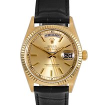 Ρολεξ (Rolex) Mens 18K Yellow Gold Day-Date President -...