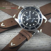 Cinturino in pelle 20 mm Vintage LS TABACCO Leather watch...