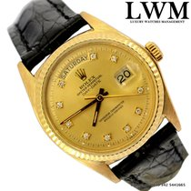 Rolex Day-Date 1803 President yellow gold 18 KT diamond's dial