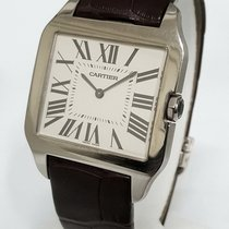 Cartier Santos Dumont Large 18K White Gold W2007051