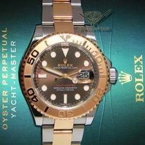勞力士 (Rolex) Yacht-Master 18k Rose Gold/Steel Chocolate Dial...
