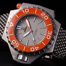 Omega Seamaster PloProf 1200m  titanium grey dial orange bezel