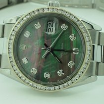 Rolex Date Oysterdate Precision Automatic Diamonds
