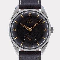 Omega Rare Vintage Black Dial Ref.2900 / 34.5 mm / Cal.266 / 1956