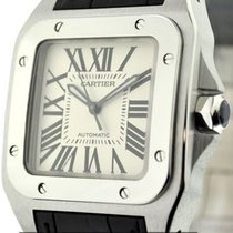 Cartier Santos Collection Santos 100 Stainless Steel 36mm