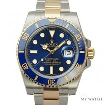 ロレックス (Rolex) Rolex Submariner Two-Tone Blue dial 116613LB (NEW)
