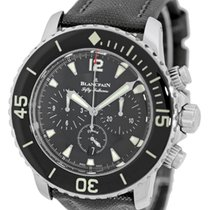 """Blancpain Antimagnetic """"Fifty Fathoms Flyback""""..."""