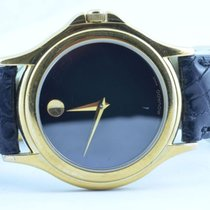 Movado Damen Uhr 32mm Stahl Vergoldet Museum Watch Rar 2