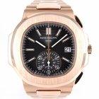 Patek Philippe Nautilus Rose Gold Chronograph 5980