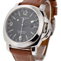 Panerai PAM00063 Pam 63 GMT - Limited to 1500pcs - Steel on...