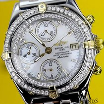 Breitling B13050 Chronograph Automatic Watch With Diamond...