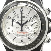 Chanel J12 Super Leggera Chronograph Aluminium Rubber Watch...