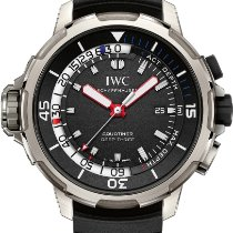 IWC Aquatimer Deep Three Herrenuhr in Titan mit Kautschukban