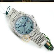 Rolex Day-date Baguette Bezel Arabic Numerals