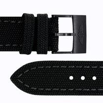 Breitling Military Strap/BlackSteel Buckle - Canvas - 24-20 -...