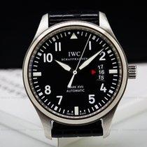 IWC IW326501 Mark XVII Black Dial SS / Alligator (26121)