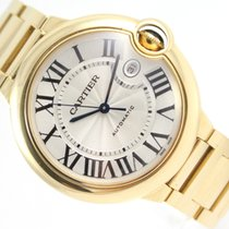 Cartier BALLON BLEU  AUTOMATIC 18K YELLOW GOLD 2998