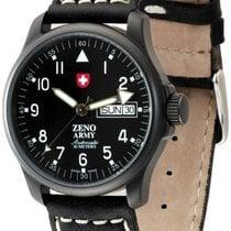 Zeno-Watch Basel -Watch Herrenuhr - Basic Army Day Date black...