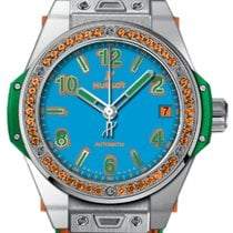 Hublot Big Bang One Click Pop Art Steel Orange 465.SO.5179.LR.12