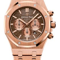 Οντμάρ Πιγκέ (Audemars Piguet) Royal Oak Chronograph 18K Pink...